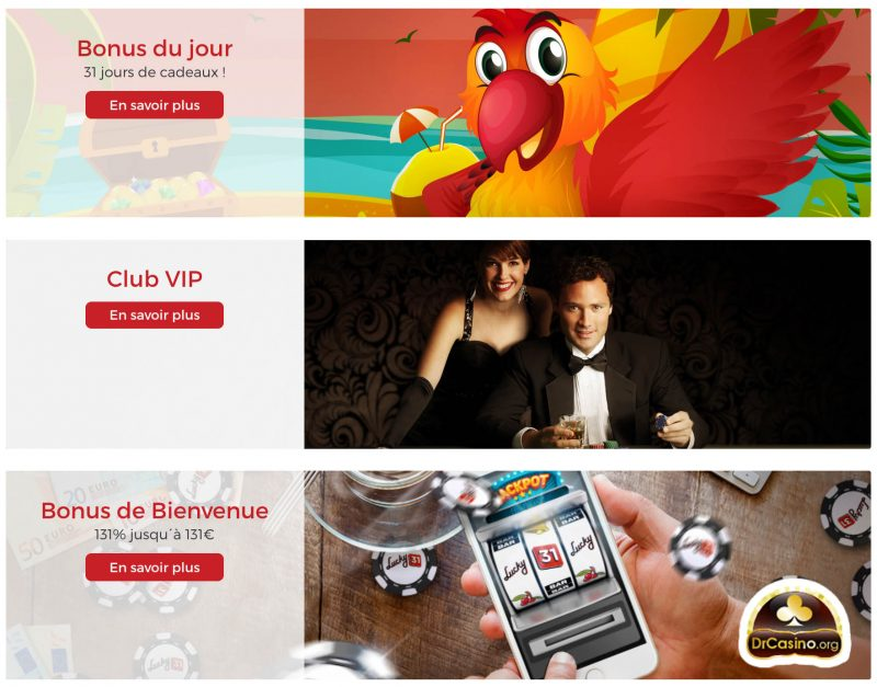 drcasino lucky31 promotions