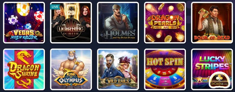 drcasino lucky8 jeux