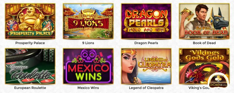 drcasino unique casino jeux