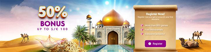 Bonus Wild Sultan Casino
