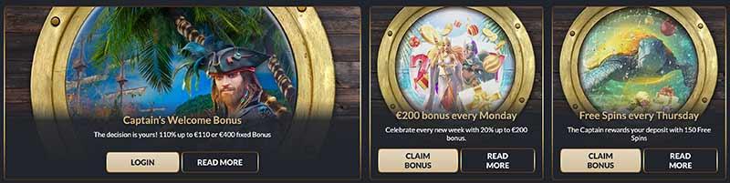 casino tortuga bonus