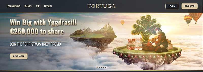 casino tortuga interface example